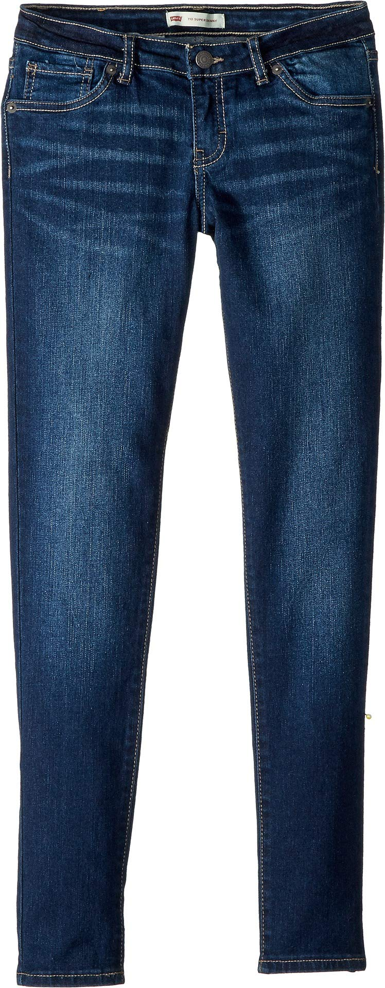 Levi's Girls' Big 710 Super Skinny Fit Jeans, Atomic, 14 by Levi's (Image #1)