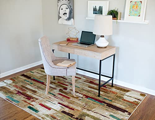 Mohawk Home Facets Printed Area Rug