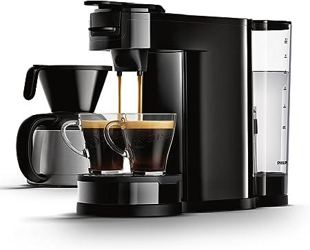 Senseo HD7892/60 - Cafetera (Independiente, Máquina de café en cápsulas, 1 L, Dosis de café, 1450 W, Negro): Amazon.es: Hogar