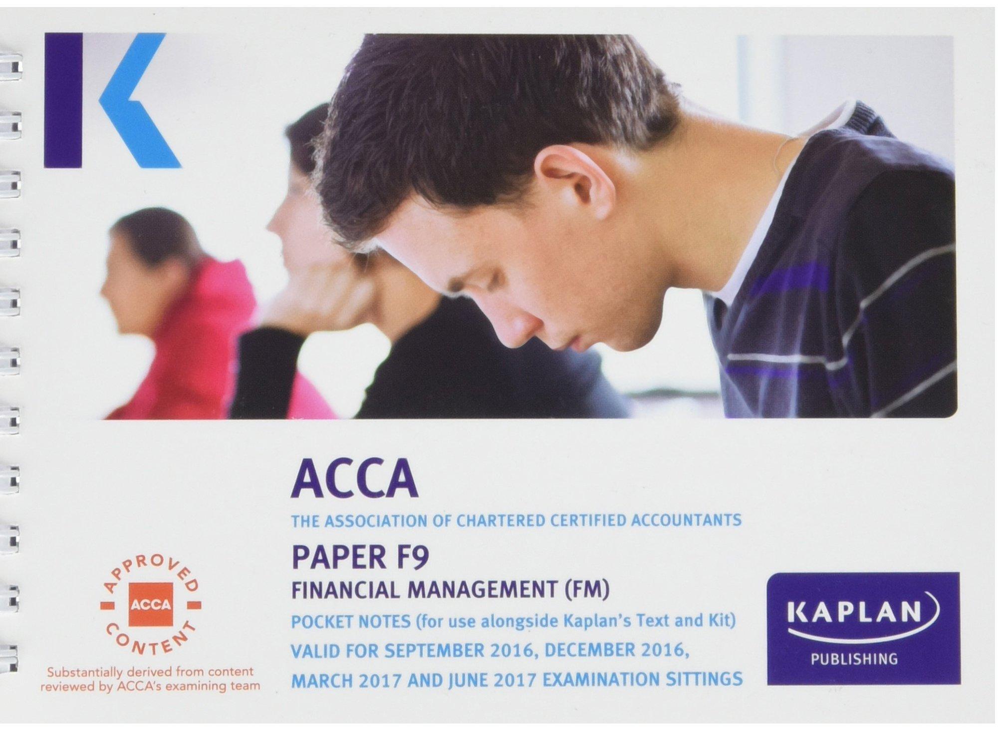 Kaplan pdf f9 acca