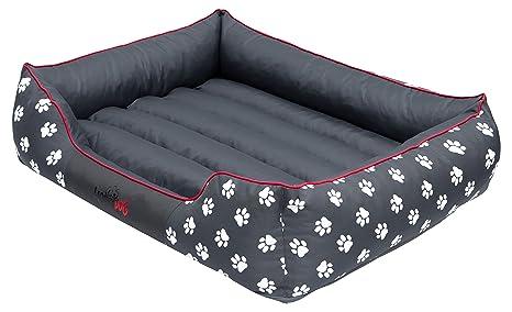 Hobbydog - Cama para Perro, Gris (Con Patas), XL (82x62x24 cm
