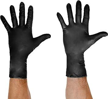 Grease Monkey 23855 16 Large Wegwerp Nitril Handschoenen Zwart Amazon Nl
