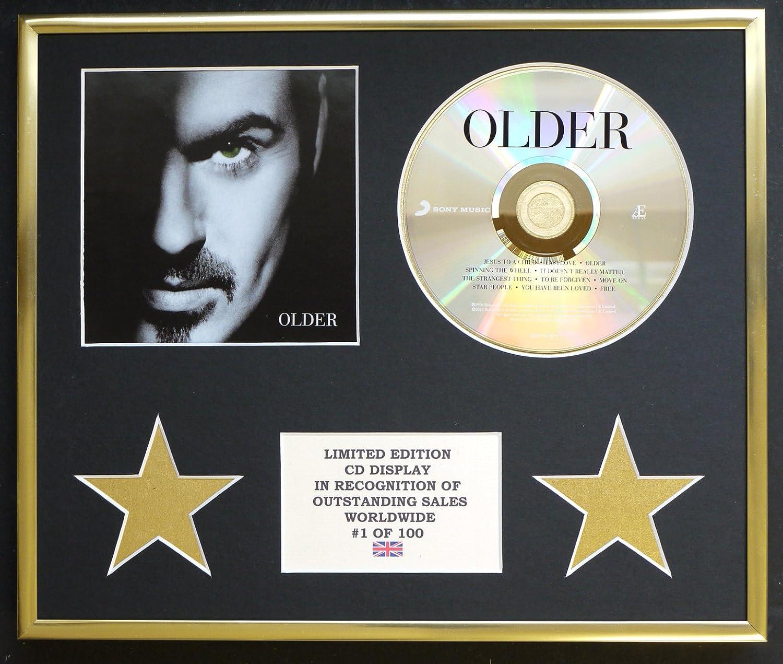 George Michael/CD pantalla/Edición limitada/COA/Edad: Amazon.es: Hogar