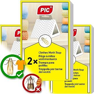 Juego de protecci/ón contra polillas 20 Unidades, Fabricado en Alemania, Ideal para polillas de Madera contra polillas de la Ropa para tu Armario, 100/% Natural Pure Made Premium Bio