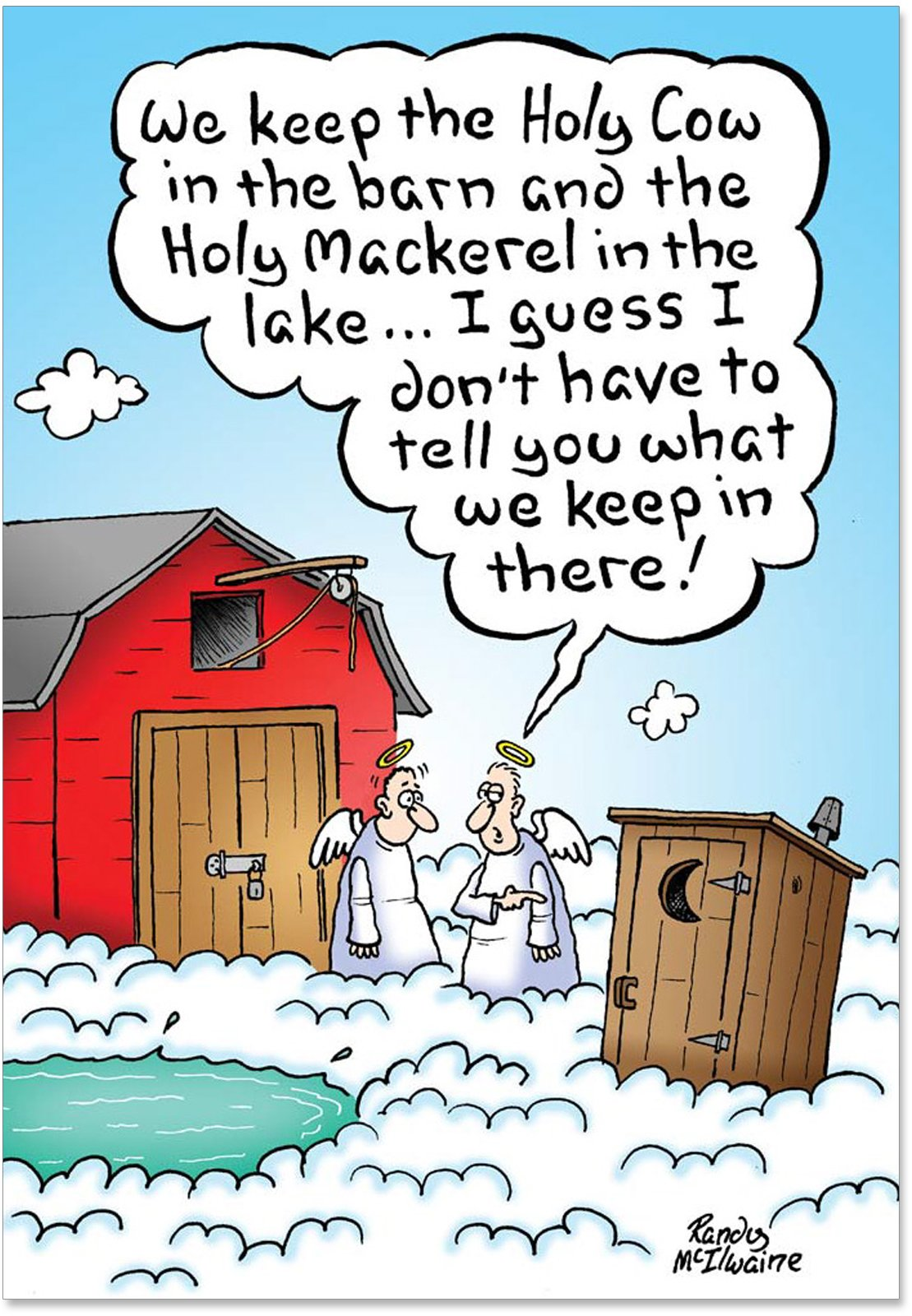 Amazon.com: Do You Believe in Miracles- Funny Christmas Card 18 ...