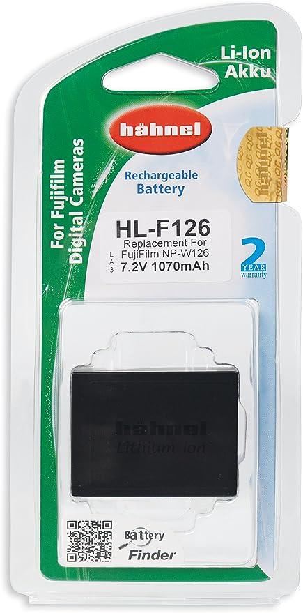 Hähnel Hl F126 Li Ionen Ersatzakku Typ Fuji Np W126 Für Kamera