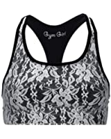 Gym Girl Women's Lace Sports Bra