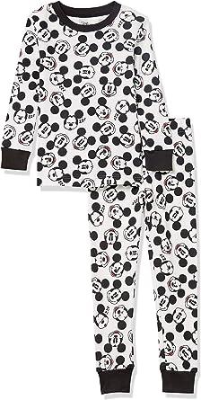 Amazon Essentials Hombre Disney Star Wars Marvel Conjuntos de pijamas de algodón con corte ajustado