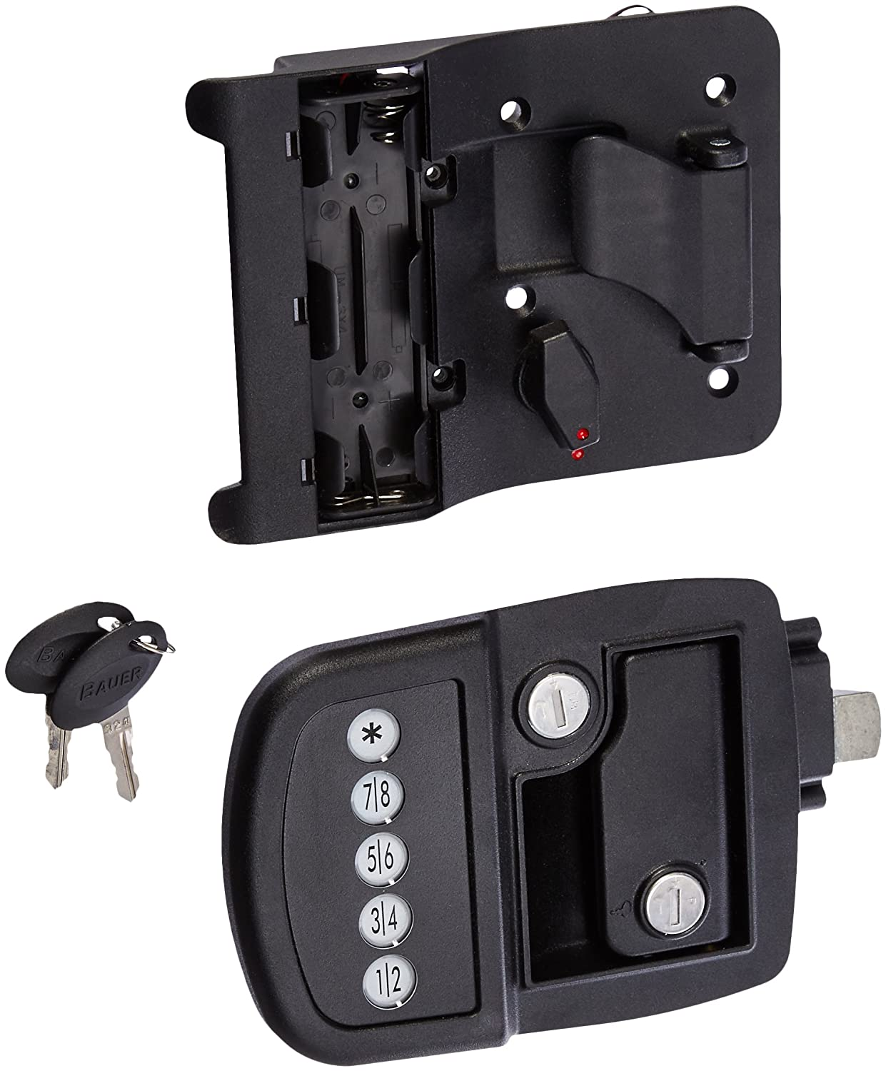 AP Products 013-530 Left Hand Electric Travel Trailer Lock