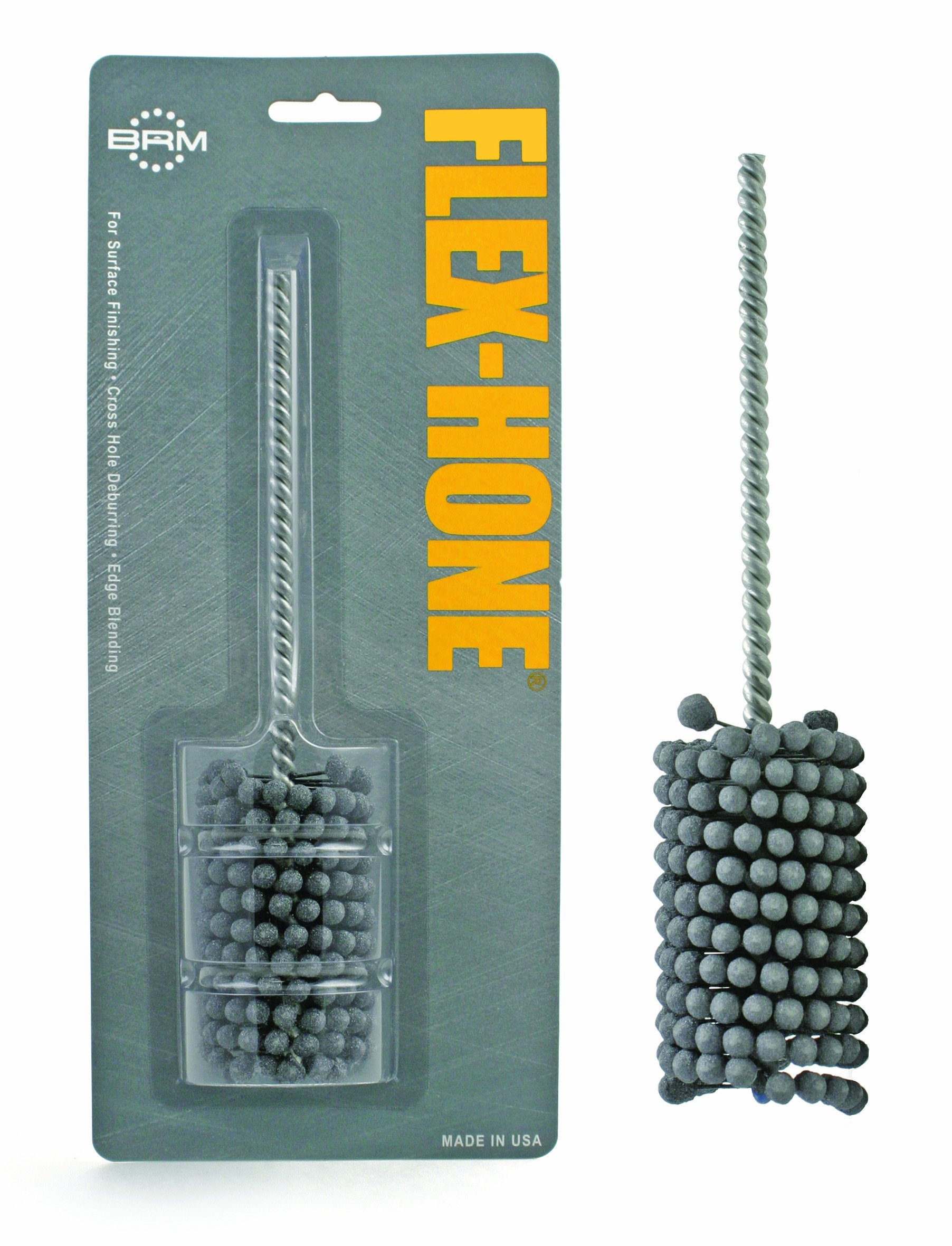 Brush Research BC Standard Flex Hone for Brake Cylinders, Hydraulics and Valve Guides, Aluminum Oxide, 1-1/4'' Diameter, 240 Grit (Pack of 1)