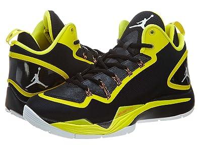 c12c135519384 Nike Jordan Super Fly 2 Men's Basketball Shoes Size US 12, Regular Width,  Color Black/Yellow