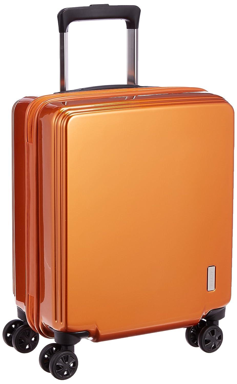 [アクタス] ACTUS スーツケース コインロッカーサイズ対応 ファスナーハードキャリー B01MQRF43Q オレンジ オレンジ
