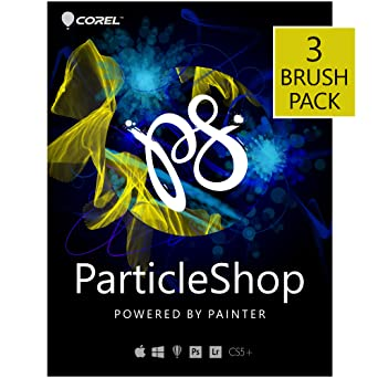 Amazon com: ParticleShop - Photoshop Brush Plugin - 3 Brush Pack [PC