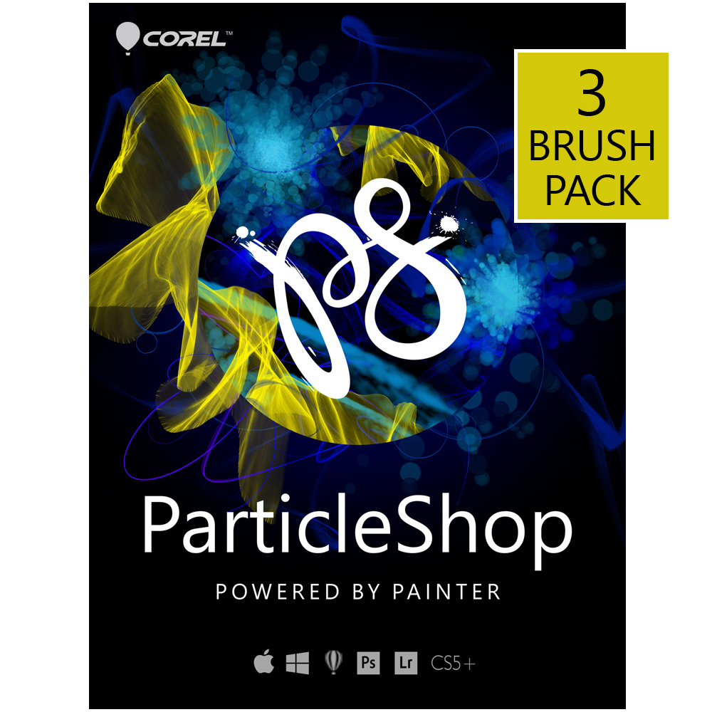 ParticleShop - Photoshop brush plugin - 3 Brush Pack for PC [Download]