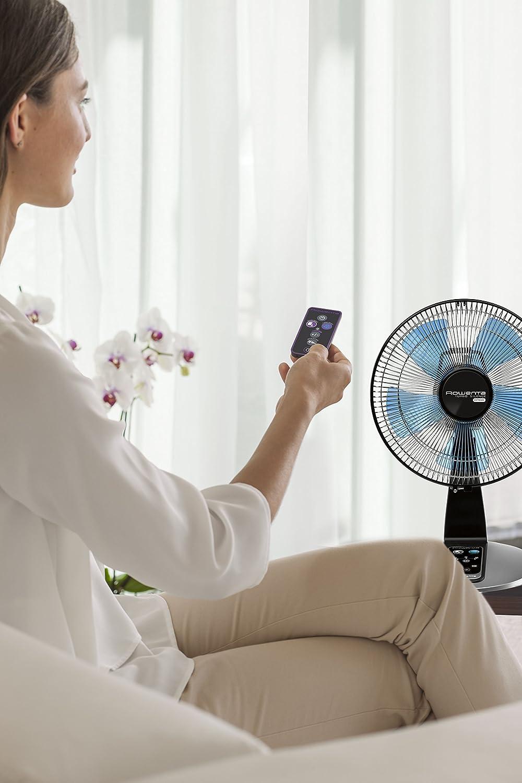Rowenta vu2531 Turbo Silence ventilador de mesa oscilante - Potente y silencioso, 4-speed, bronce: Amazon.es: Hogar