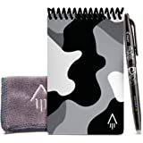Rocketbook Smart Reusable Notebook - Dot-Grid Eco-Friendly Notebook with 1 Pilot Frixion Pen & 1 Microfiber Cloth Included -