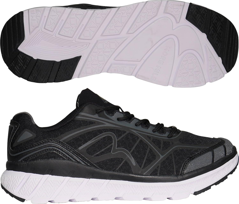 More Mile - Zapatillas de Running para Hombre Negro Negro Auditor Value, Color Negro, Talla 10 UK: Amazon.es: Zapatos y complementos