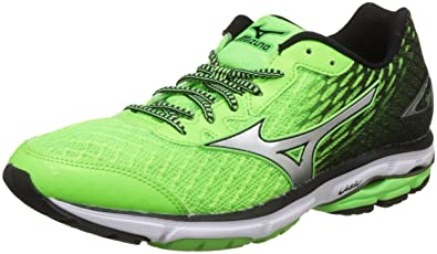 new product 72a6a 0aa04 Mizuno Men's Wave Rider 19 Running Shoes