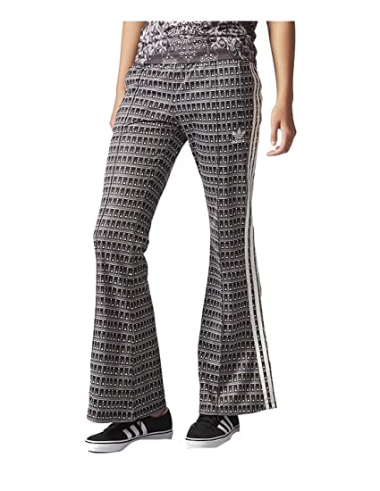Amazon.com  ADIDAS Women Originals Pavao Flared Pants Size S  Sports ... 6b818f184ef78