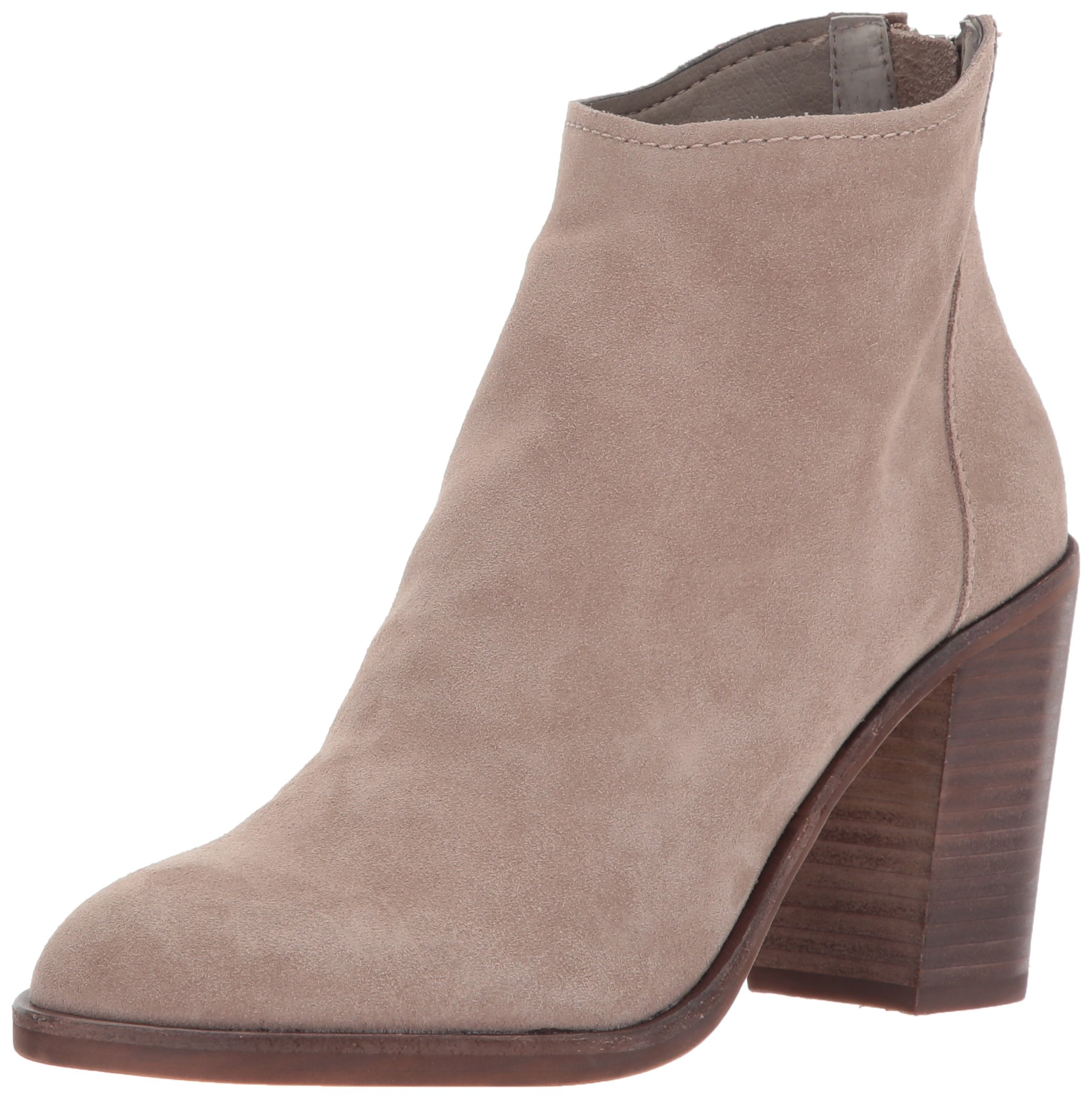 Dolce Vita Women's Stevie Ankle Boot, Taupe Suede, 8.5 Medium US