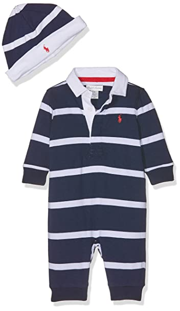 Polo Ralph Lauren YD Rugby Jersey-AC-GBX Gift Box Set, Pelele Unisex