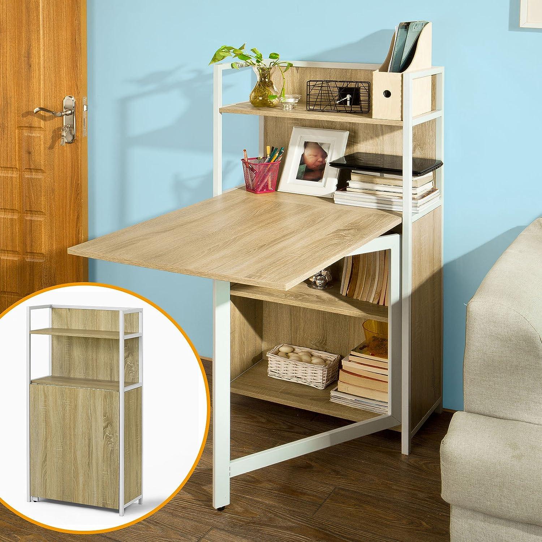 Wand-Klapptisch, Küche & Esszimmer massiv Holz Tisch Schreibtisch ...