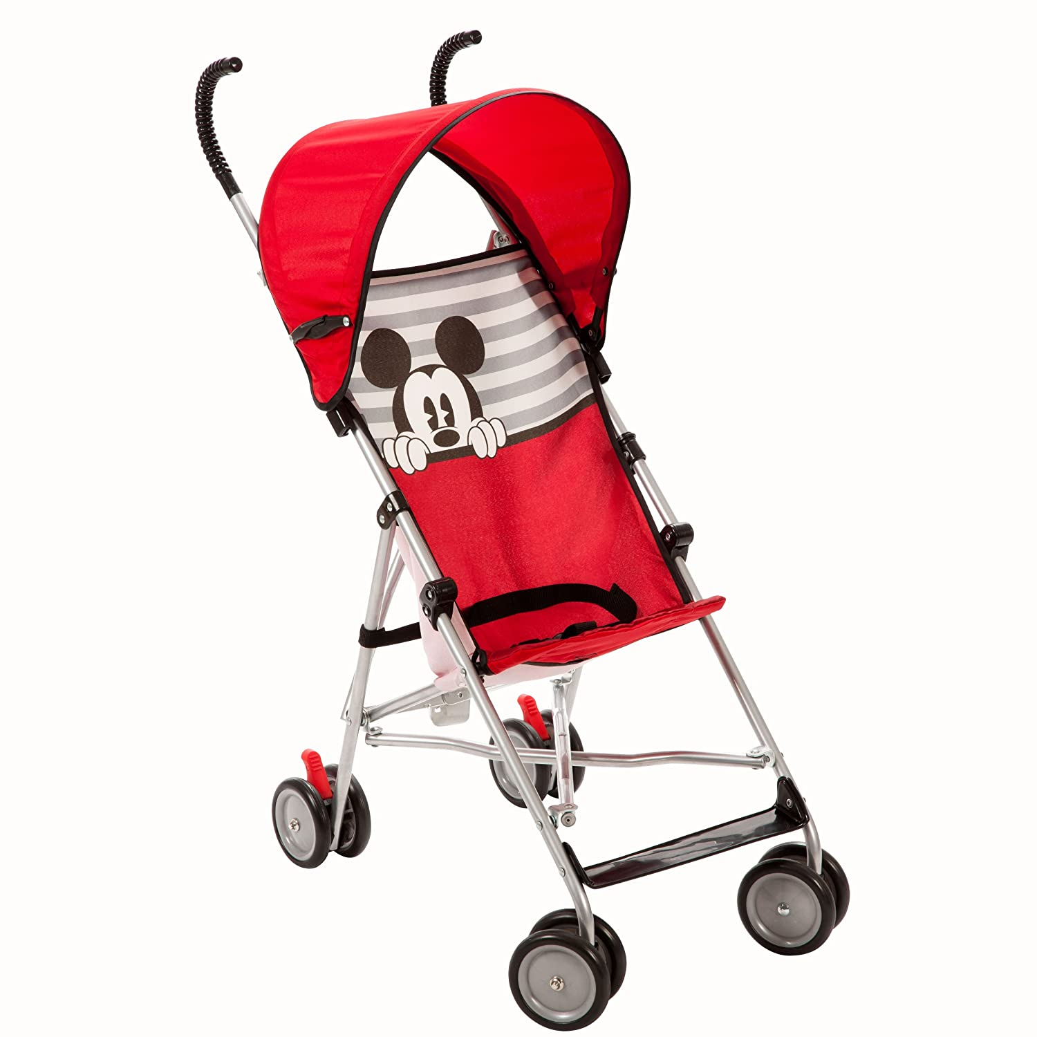 Amazon.com  Disney Umbrella Stroller with Canopy Mickey Stripes Prior Model)  Baby Strollers  Baby  sc 1 st  Amazon.com & Amazon.com : Disney Umbrella Stroller with Canopy Mickey Stripes ...