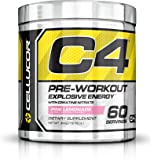 Cellucor - C4 Premium Pre Workout Powder with Creatine, Beta Alanine, and TeaCor for High Performance (195g) - Pink Lemonade - 60 Servings