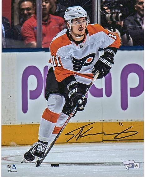 the best attitude 3efb4 3a9af Travis Konecny Philadelphia Flyers Autographed 8