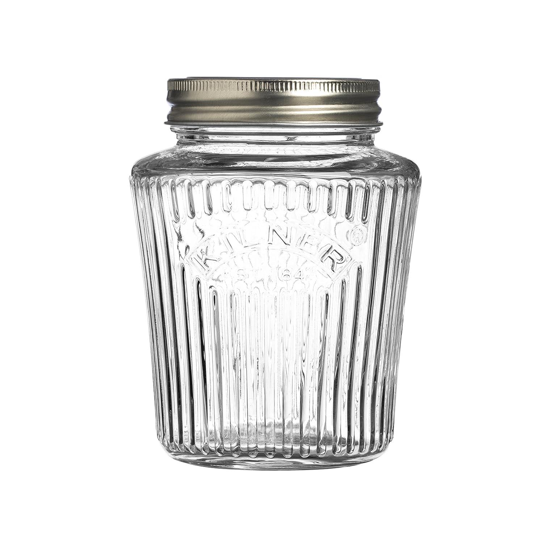 Kilner - Tarro de almacenaje edición aniversario, Clear 0.25L, 0.25 Litre 38-2057-00