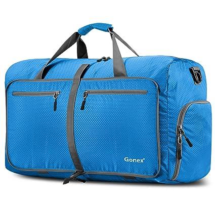 Gonex Sac de Voyage 100L Sac de Sport Pliable Sac Imperméable Pliant Pour camping Randonnée Voyage tA1v0w2f9S