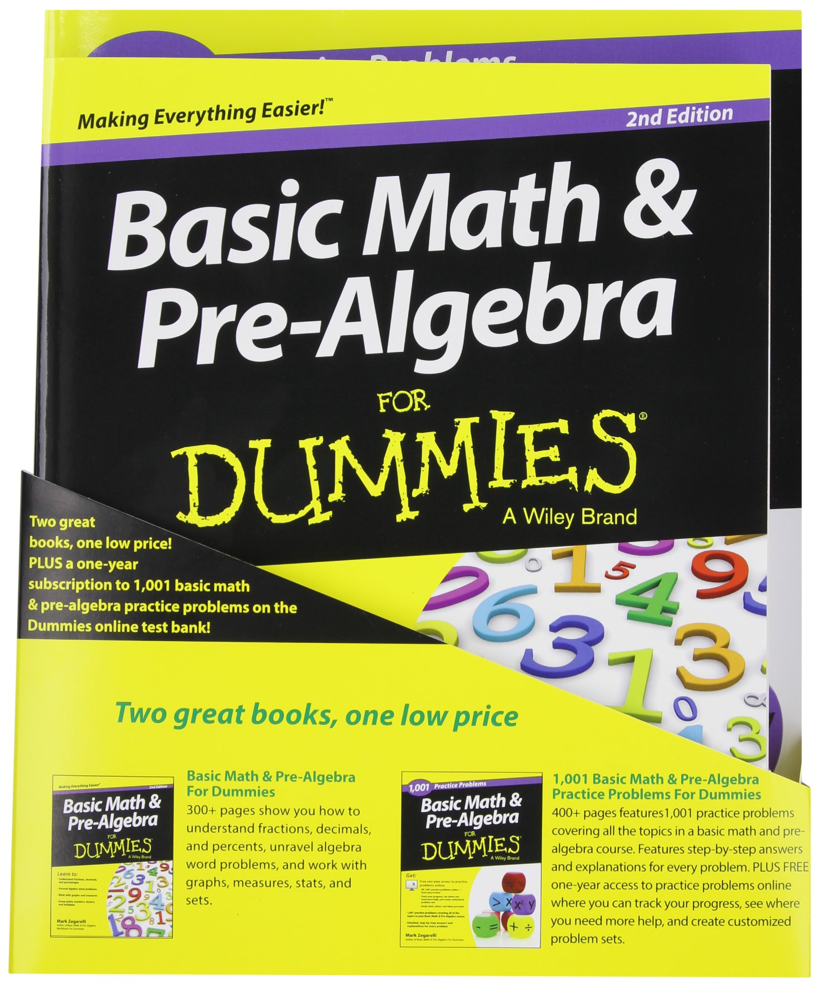 Buy Basic Math and Pre-Algebra: Learn and Practice 2 Book Bundle ...