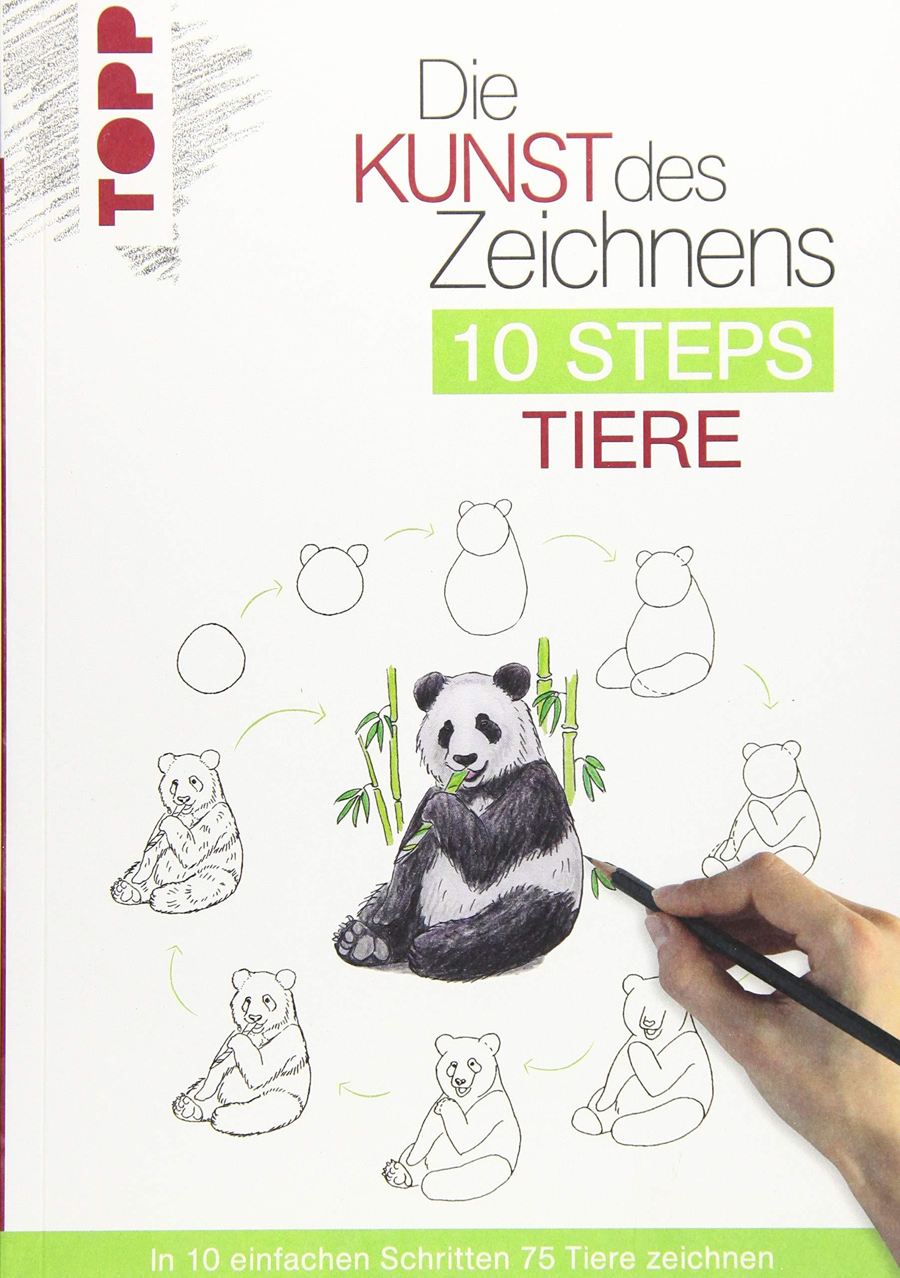 Die Kunst Des Zeichnens 10 Steps Tiere In 10 Einfachen