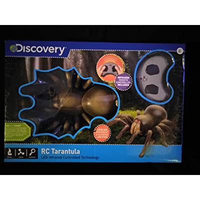Discovery RC Tarantula Spider With Infrared Remote Controlled Technology Ages 8+ With Lifelike Movement & Glowing LED Eyes New In Unopened Box: Toys & Games