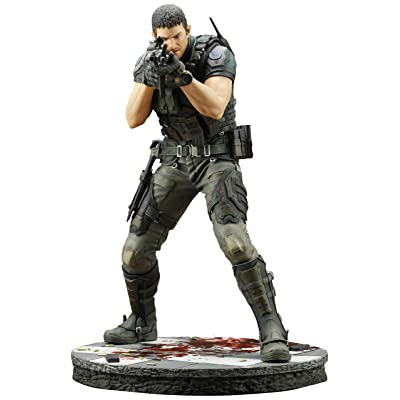 KOTOBUKIYA RESIDENT EVIL: VENDETTA CHRIS REDFIELD ARTFX STATUE: Toys & Games