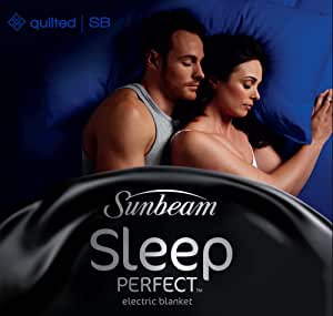 Sunbeam Sleep Perfect Single Quilted Heated Blanket 1 pc