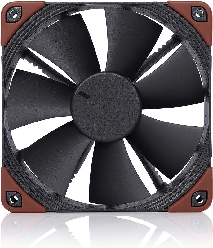 Noctua NF-F12 iPPC 3000 PWM, Heavy Duty Cooling Fan, 4-Pin, 3000 RPM (120mm, Black)