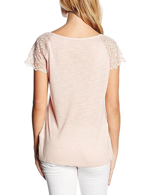 Morgan 161-DICA.N-Camiseta de manga corta para Mujer color Rosa talla 41: Amazon.es: Ropa y accesorios