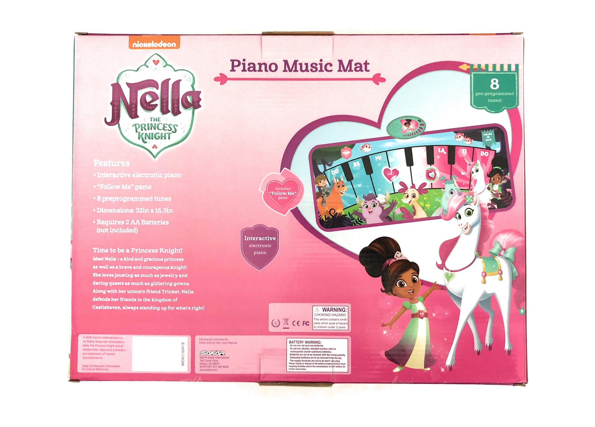 Nickelodeon Nella The Princess Knight Piano Dance Mat by Nickelodeon (Image #2)