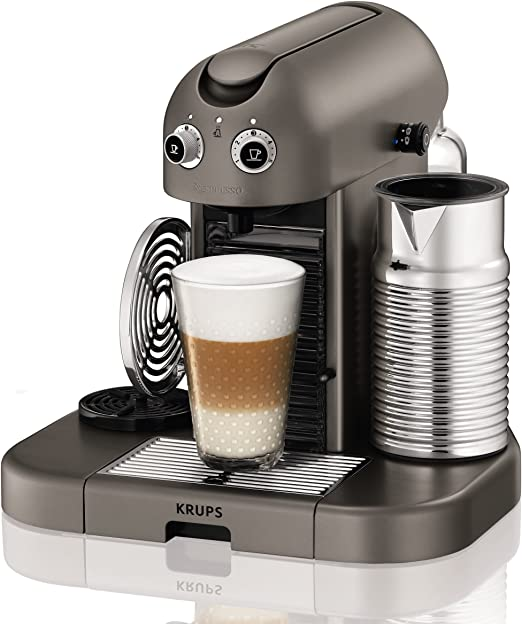 Nespresso XN8105 Cafetera Capsula Krups Xn8105p4 Gran Maestria Titani, 2300 W, plástico: Amazon.es: Hogar