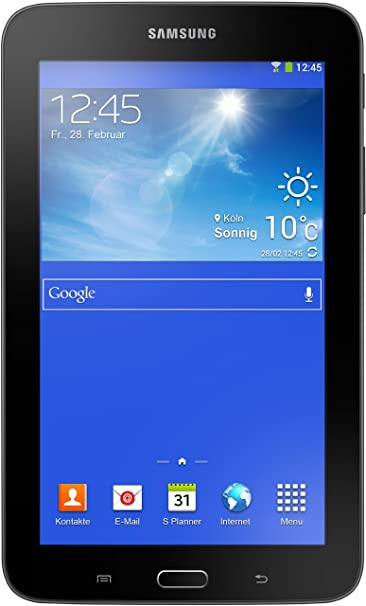 Samsung Galaxy Tab 3 7.0 Lite 17,8 cm (7 Zoll) Tablet-PC (Dual Core Prozessor, 1,2GHz, 1GB RAM, 8GB HDD, Android 4.2, Wi-Fi)