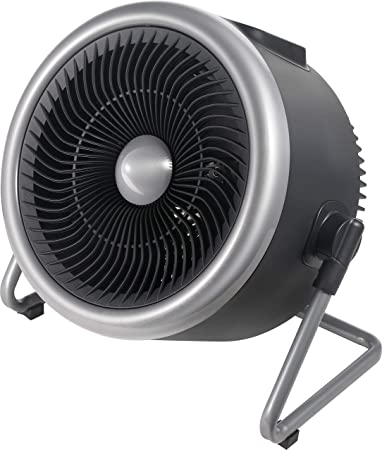 PELONIS Portable 2 in 1 Vortex Heater with Air Circulation Fan and Wide Tilting Angle Stand