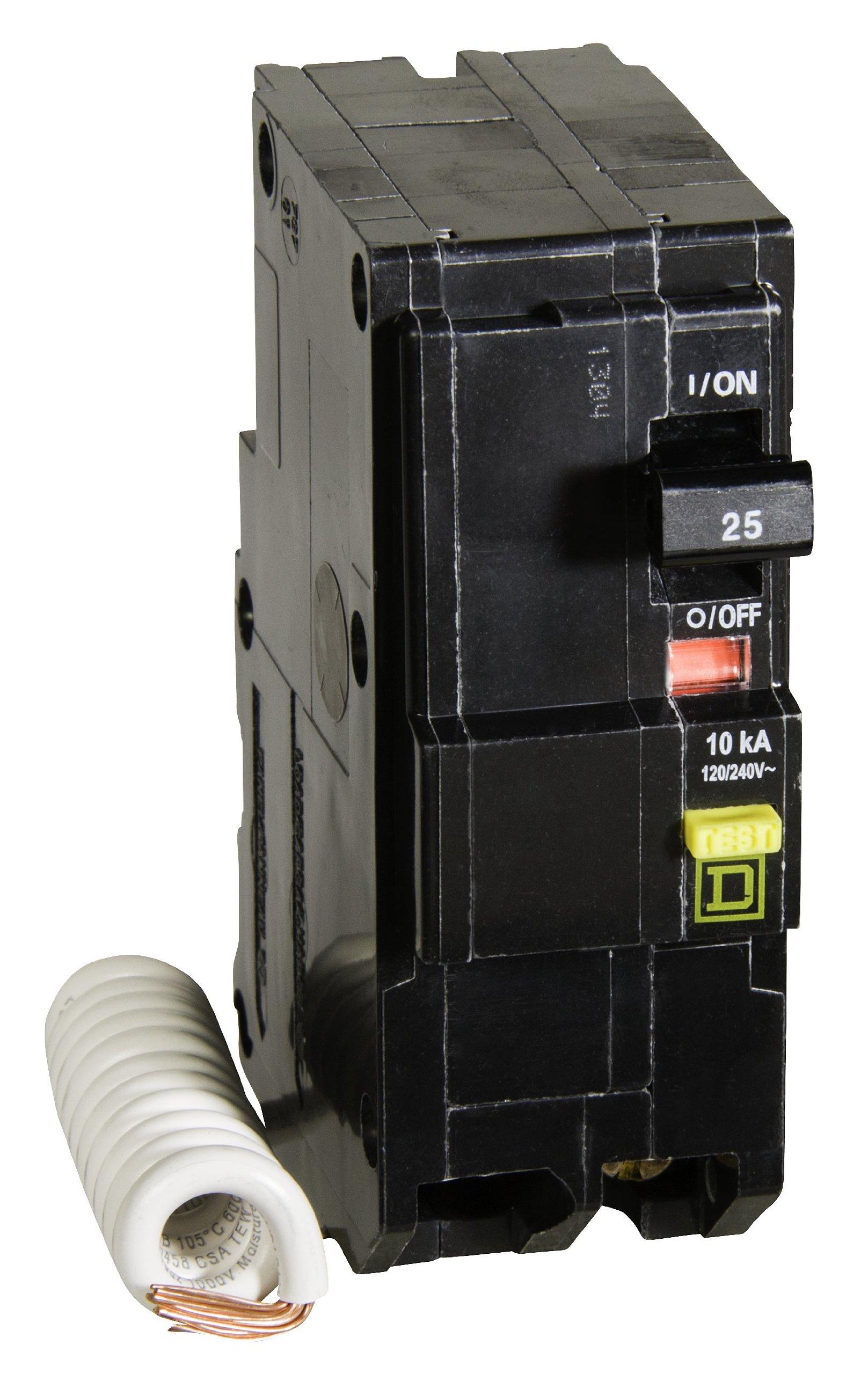Square D by Schneider Electric QO225GFI QO 25-Amp Two-Pole GFCI Breaker