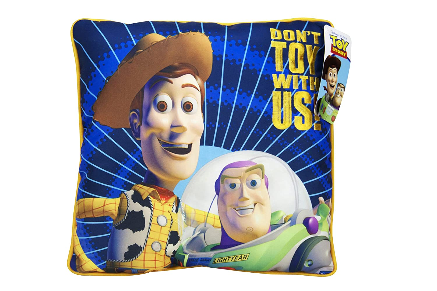 Disney Toy Story Don't Toy with Us Decorative Pillow Jay Franco and Sons Inc. JF29045SDY