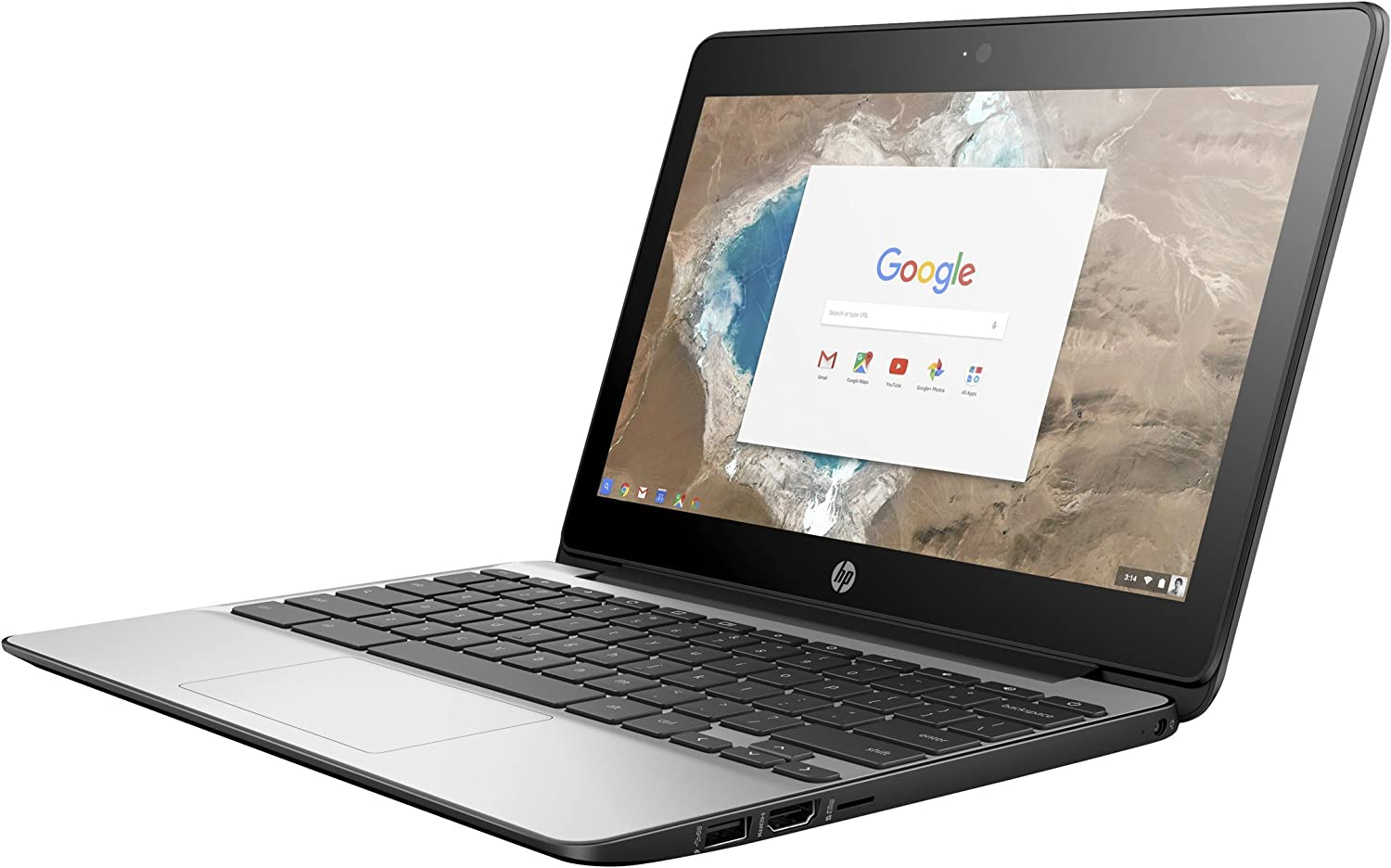 HP Chromebook 11 G5 11.6 inches Chromebook - Intel Celeron N3050 Dual-core (2 Core) 1.60 GHz (Renewed)