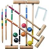 Franklin Sports 6 Player Professional Croquet Set