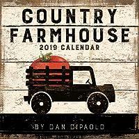 Country Farmhouse 2019 Wall Calendar