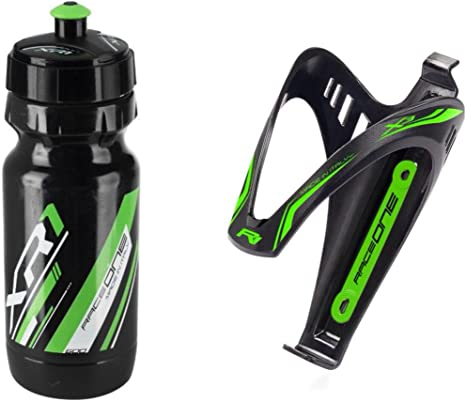 RaceOne.it - KIT Fluo Race - 2 PCS - Bidón de ciclismo + ...