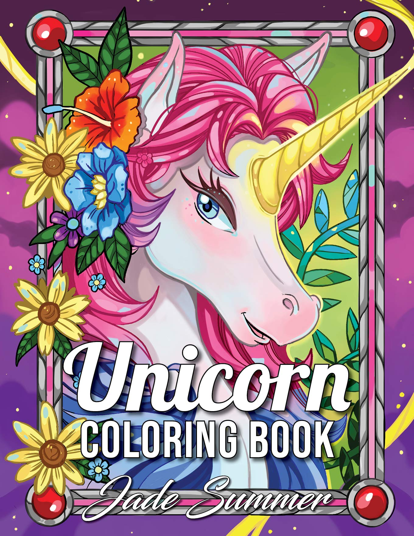 Amazon Com Unicorn Coloring Book An Adult Coloring Book With Magical Animals Cute Princesses And Fantasy Scenes For Relaxation Unicorn Coloring Books 9781979927956 Summer Jade Books