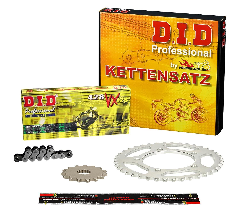 Kettensatz CBF 125 M 2009-2013 DID X-Ring extra verst/ärkt JC40